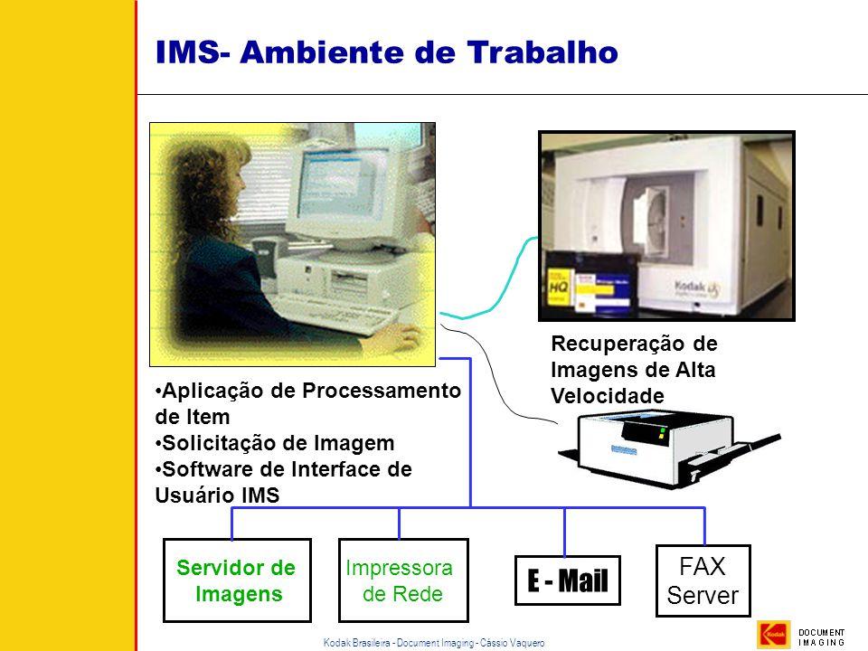 Kodak Brasileira - Document Imaging - Cássio Vaquero