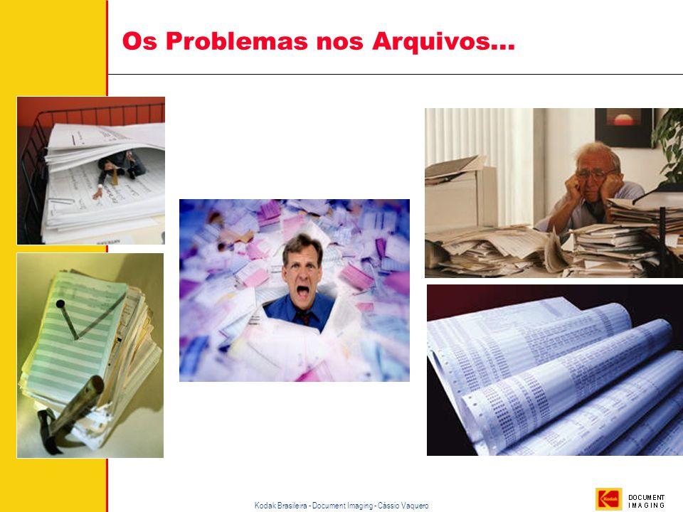 Os Problemas nos Arquivos...