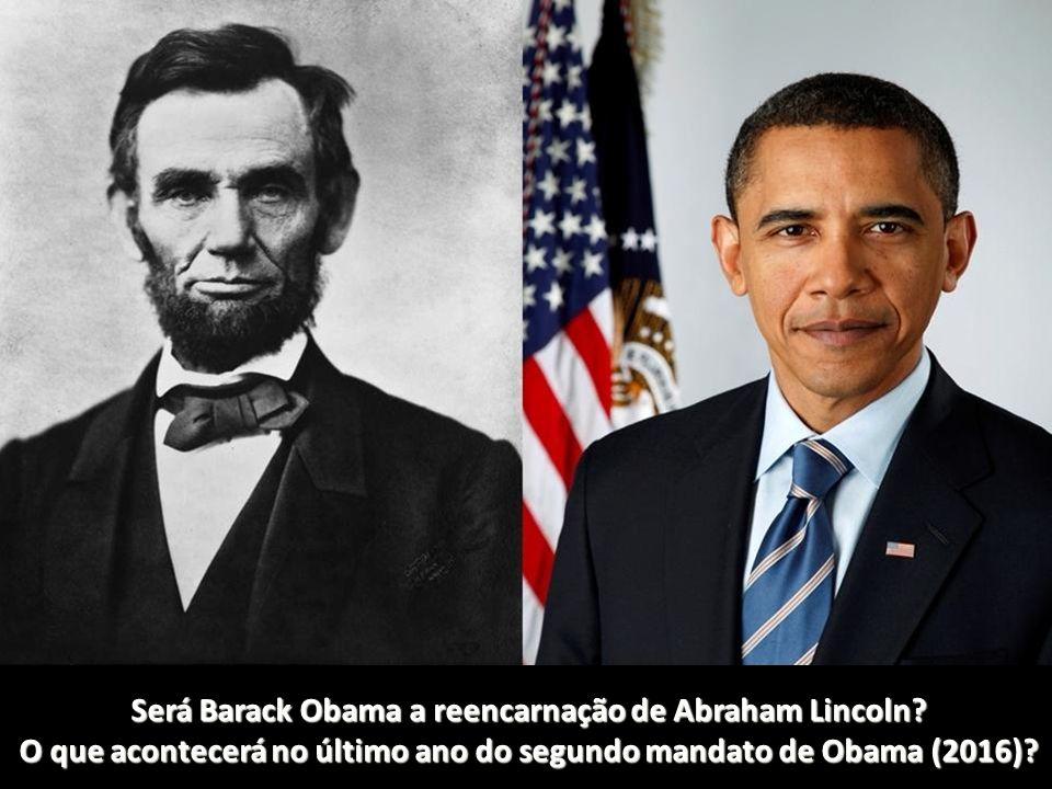 Será Barack Obama a reencarnação de Abraham Lincoln