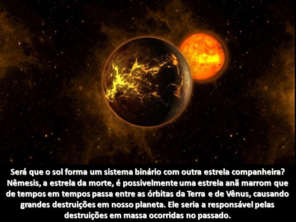 Será que o sol forma um sistema binário com outra estrela companheira