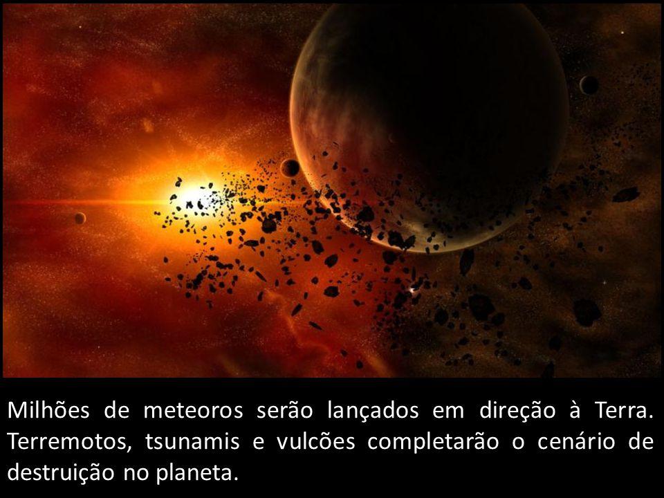 Milhões de meteoros serão lançados em direção à Terra