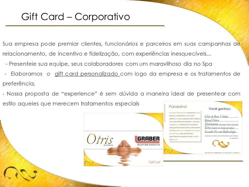 Gift Card – Corporativo