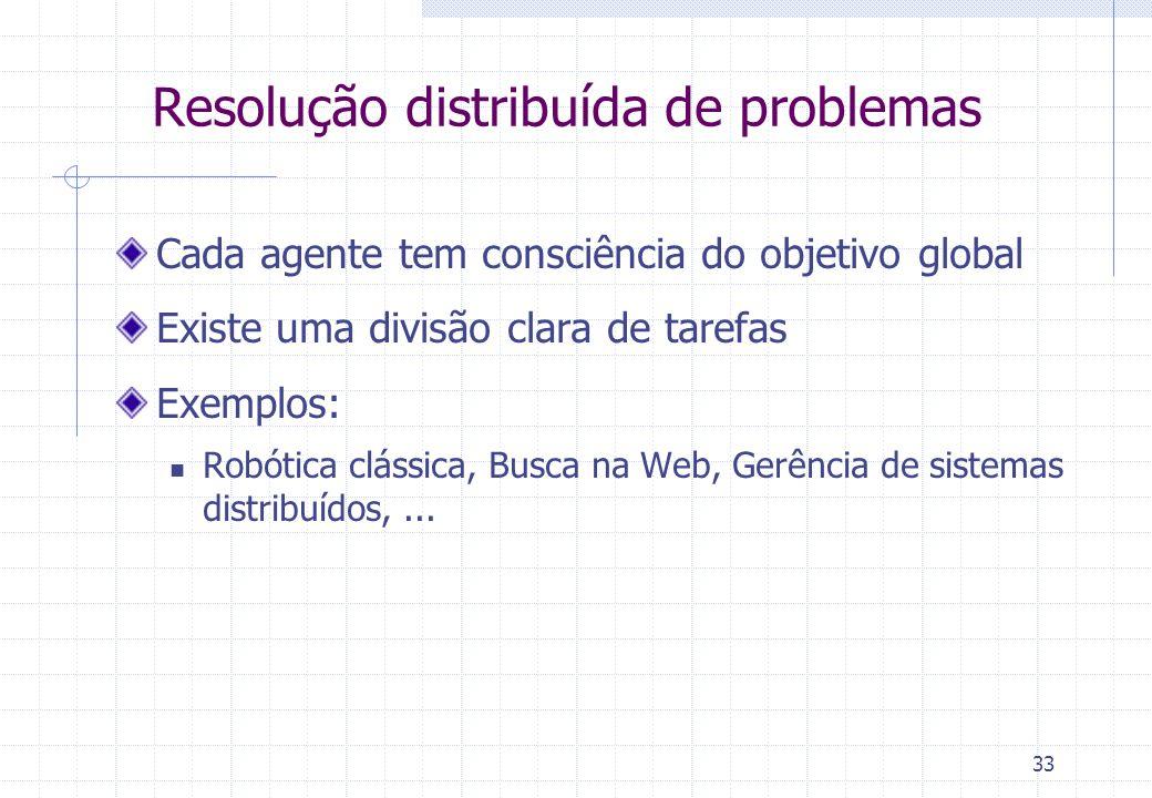 Resolução distribuída de problemas
