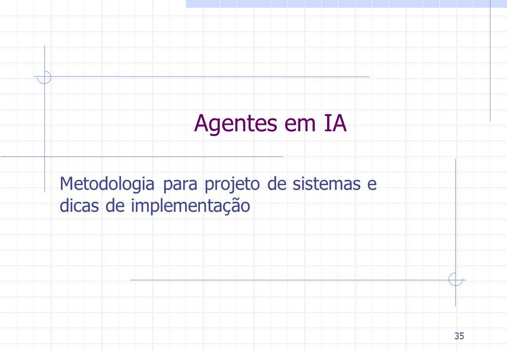 Metodologia para projeto de sistemas e dicas de implementação