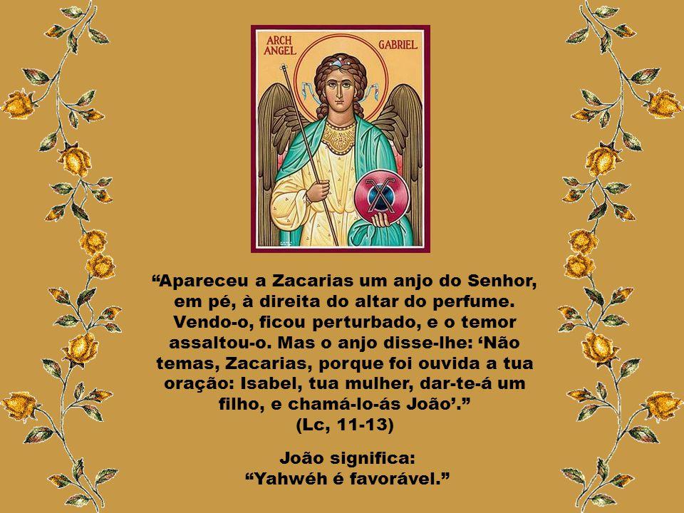 João significa: Yahwéh é favorável.