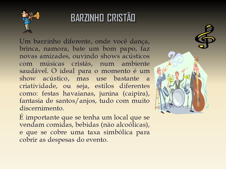 BARZINHO CRISTÃO