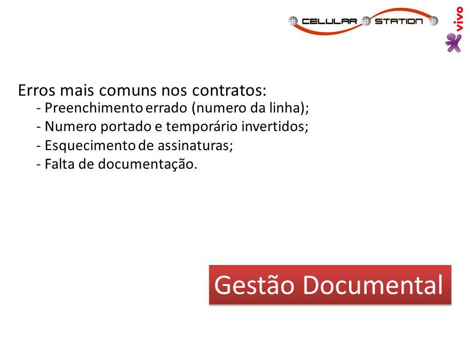 Gestão Documental Erros mais comuns nos contratos: