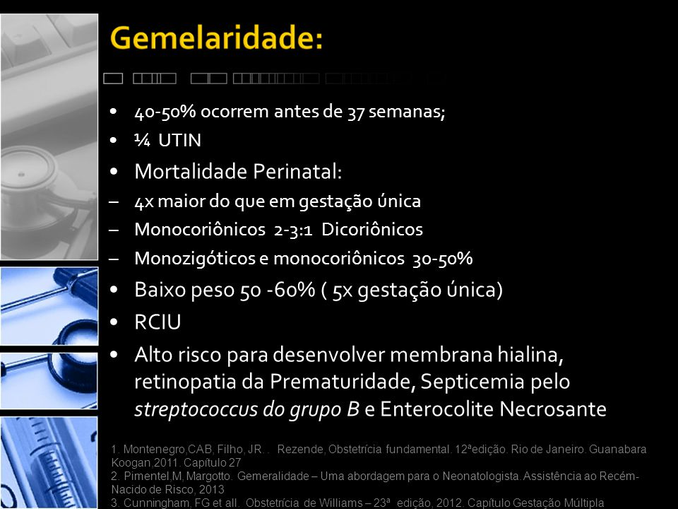 Mortalidade Perinatal: