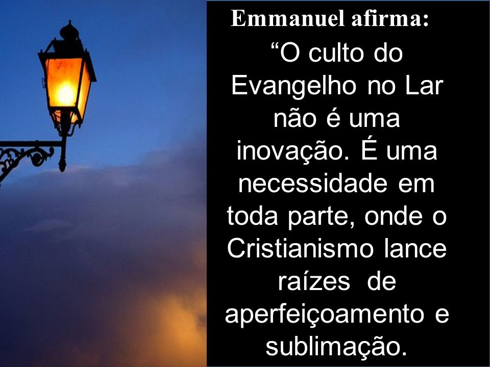 Emmanuel afirma: