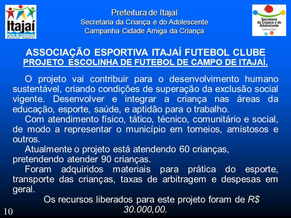ASSOCIAÇÃO ESPORTIVA ITAJAÍ FUTEBOL CLUBE