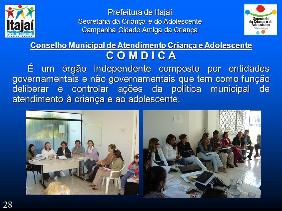 Conselho Municipal de Atendimento Criança e Adolescente