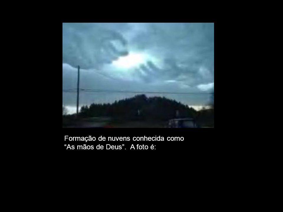 Formação de nuvens conhecida como