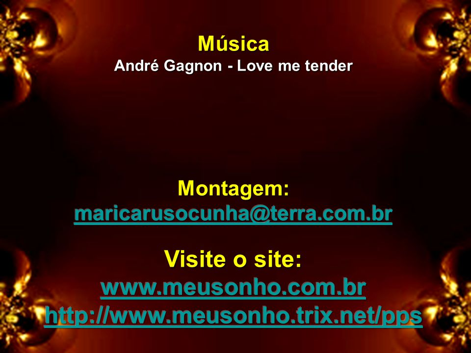 André Gagnon - Love me tender