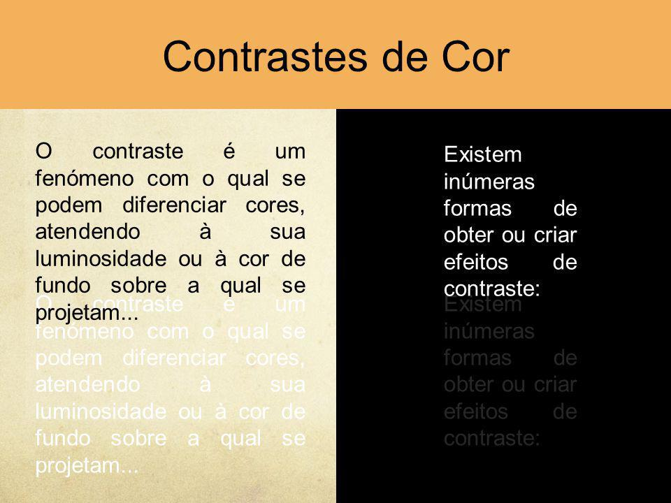 Contrastes de Cor