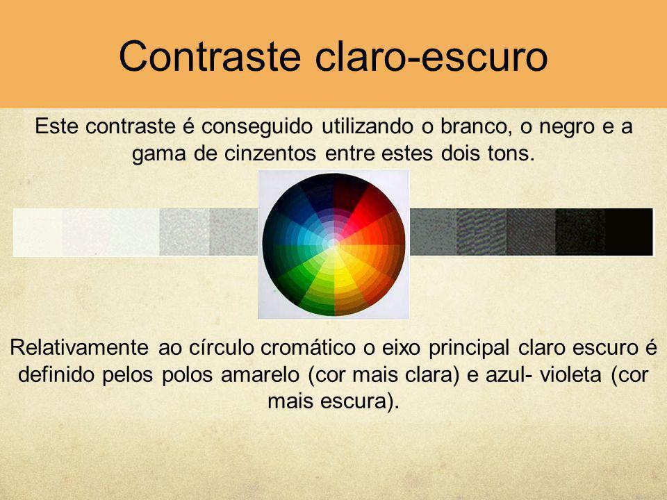 Contraste claro-escuro