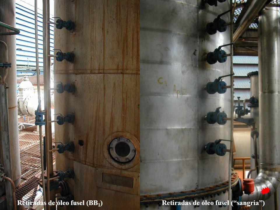 Retiradas de óleo fusel (BB1)