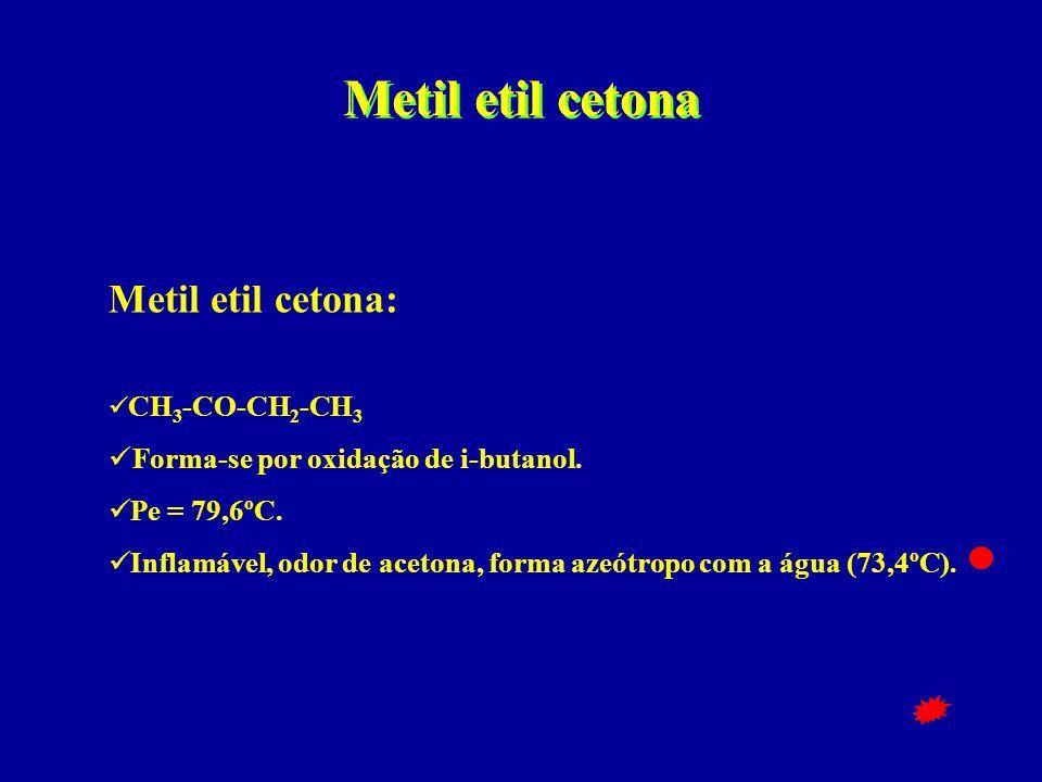 Metil etil cetona Metil etil cetona: