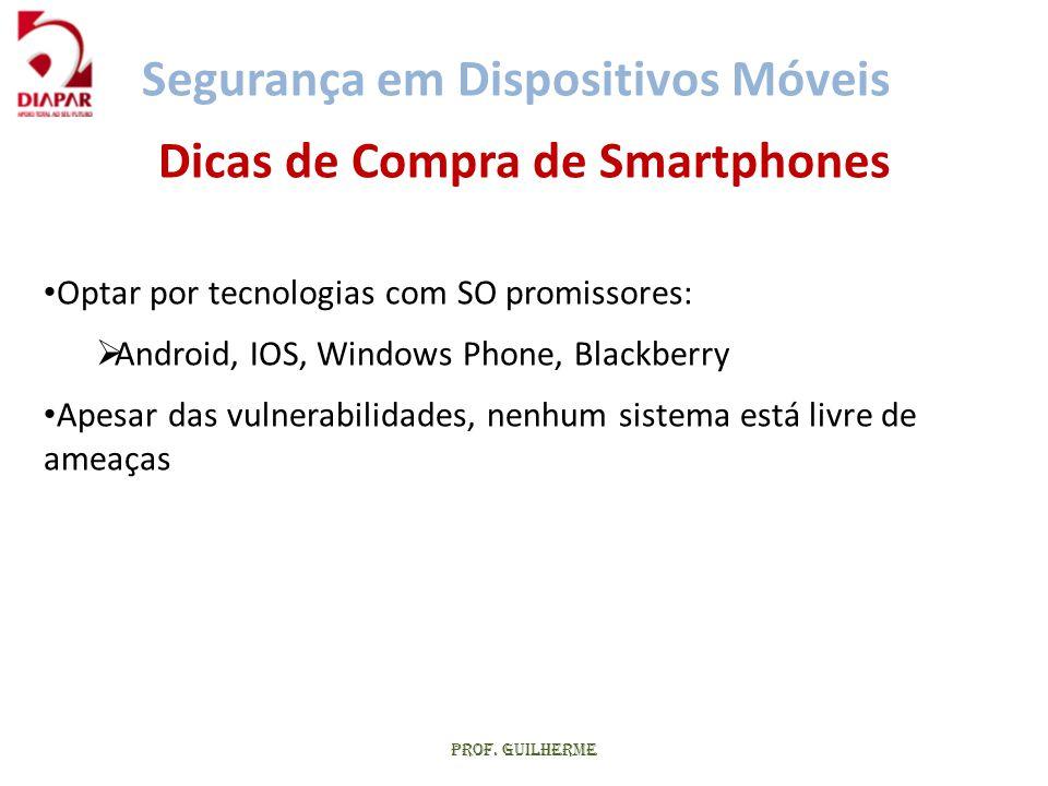 Dicas de Compra de Smartphones