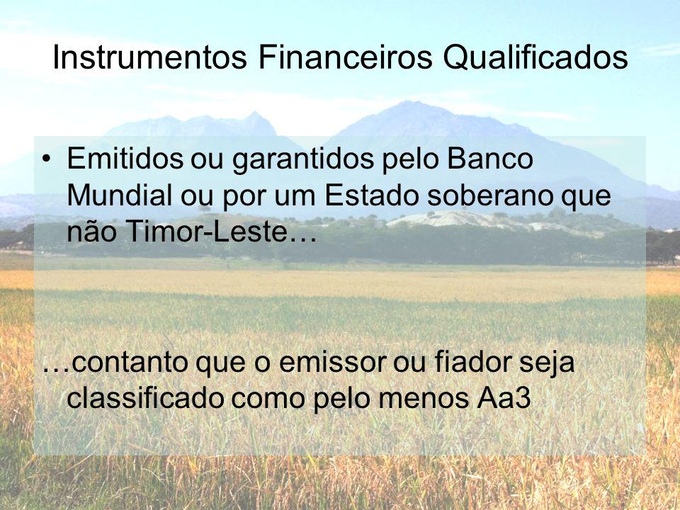 Instrumentos Financeiros Qualificados