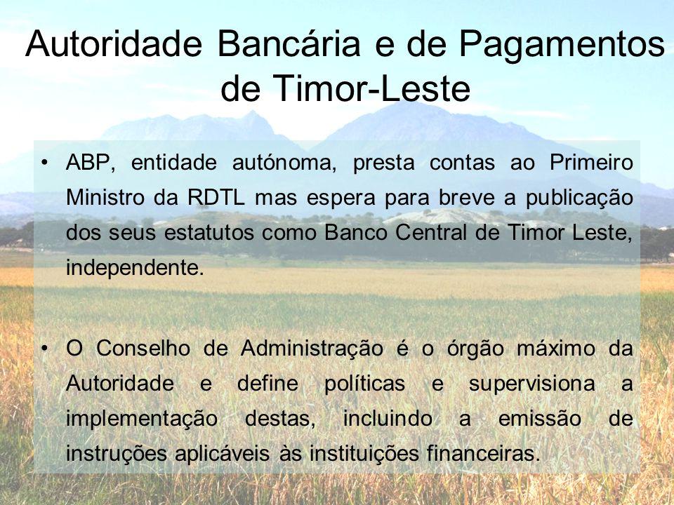 Autoridade Bancária e de Pagamentos de Timor-Leste