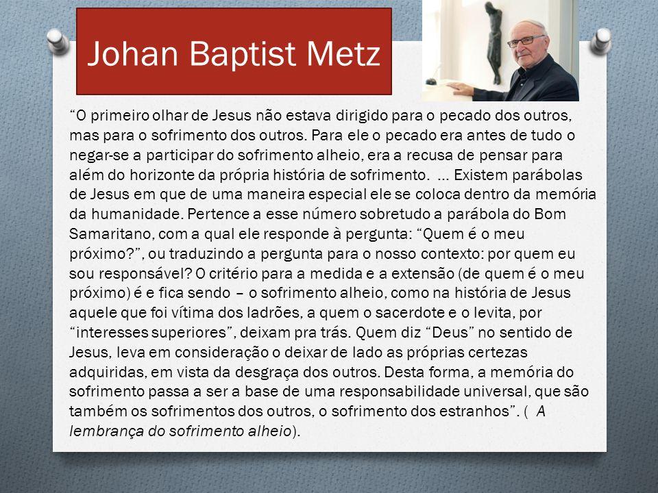 Johan Baptist Metz