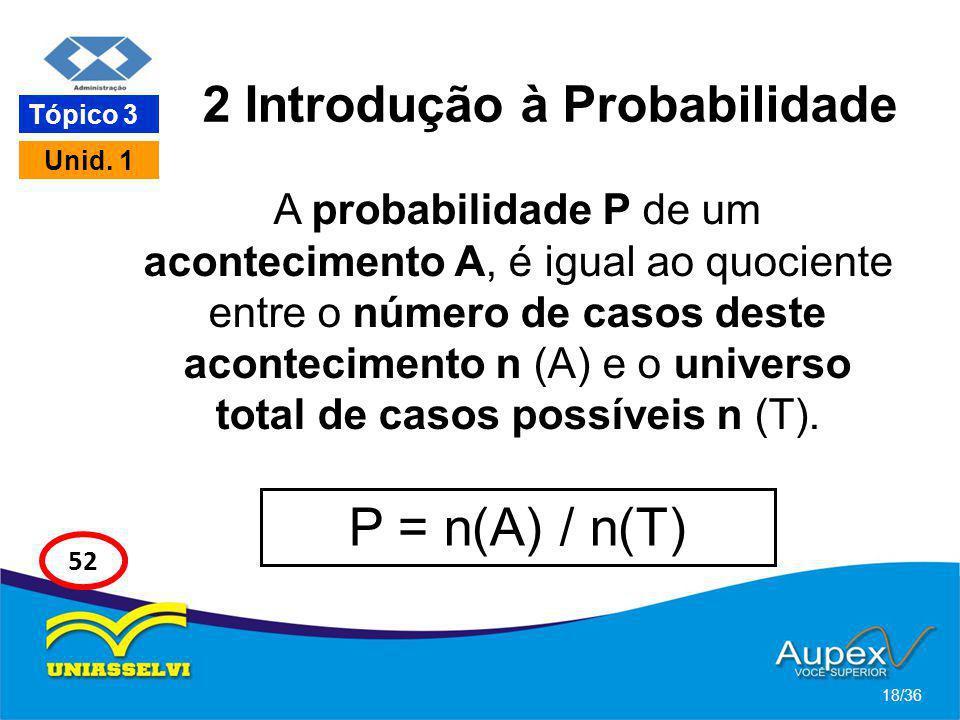 2 Introdução à Probabilidade