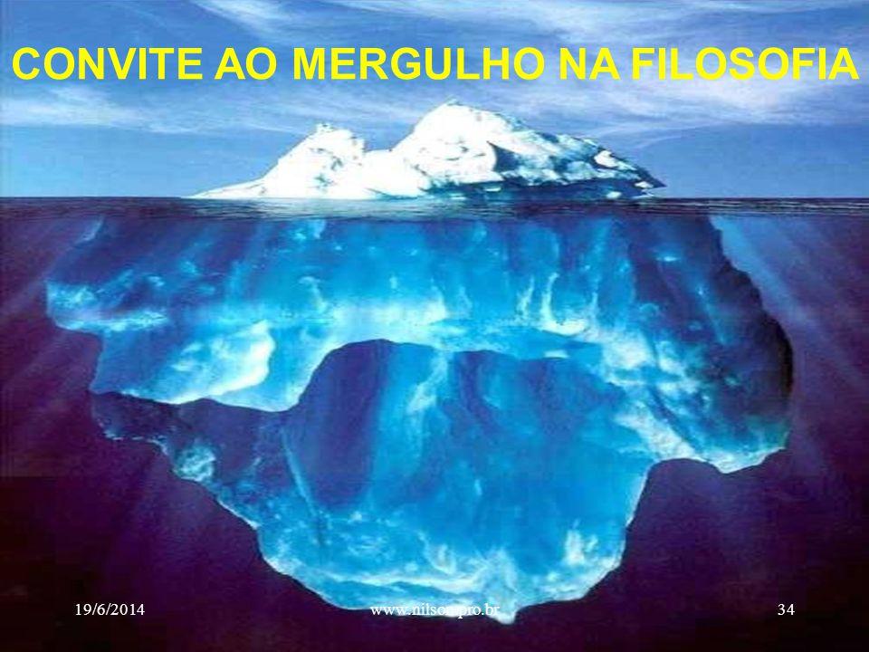 CONVITE AO MERGULHO NA FILOSOFIA