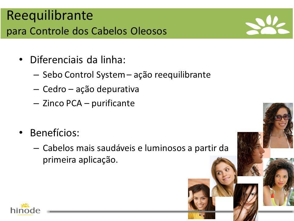 Reequilibrante para Controle dos Cabelos Oleosos