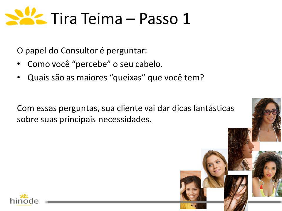 Tira Teima – Passo 1 O papel do Consultor é perguntar: