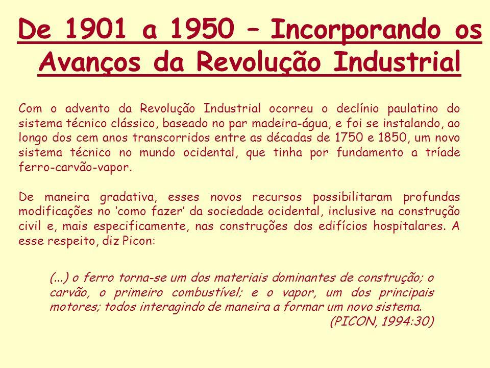 De 1901 a 1950 – Incorporando os Avanços da Revolução Industrial