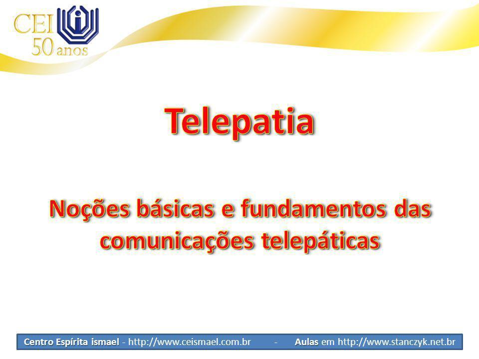 Noções básicas e fundamentos das comunicações telepáticas