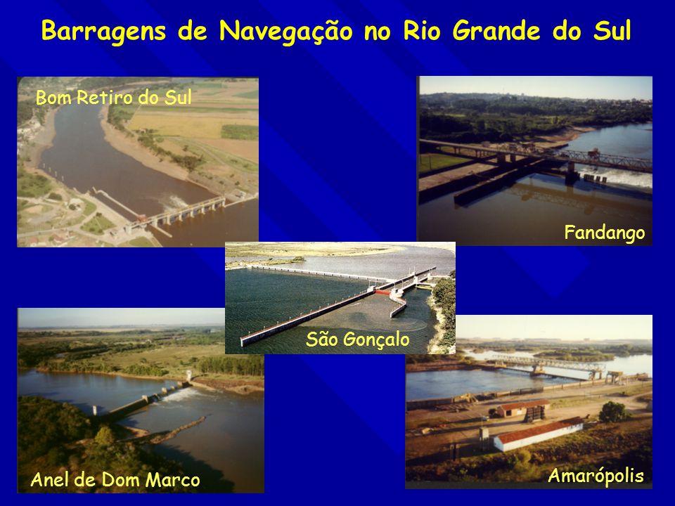 Barragens de Navegação no Rio Grande do Sul