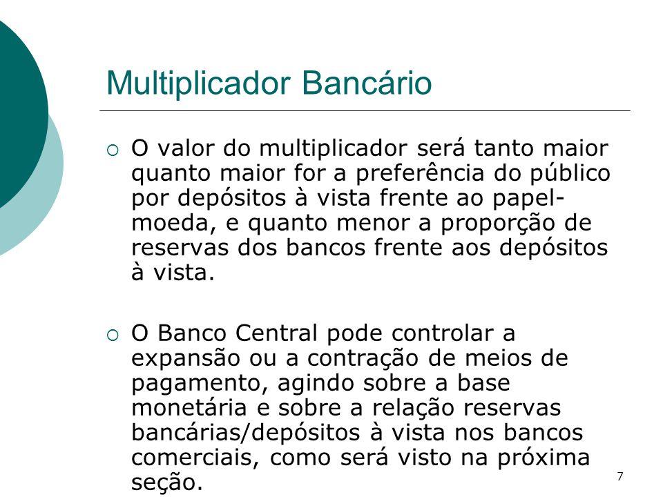 Multiplicador Bancário