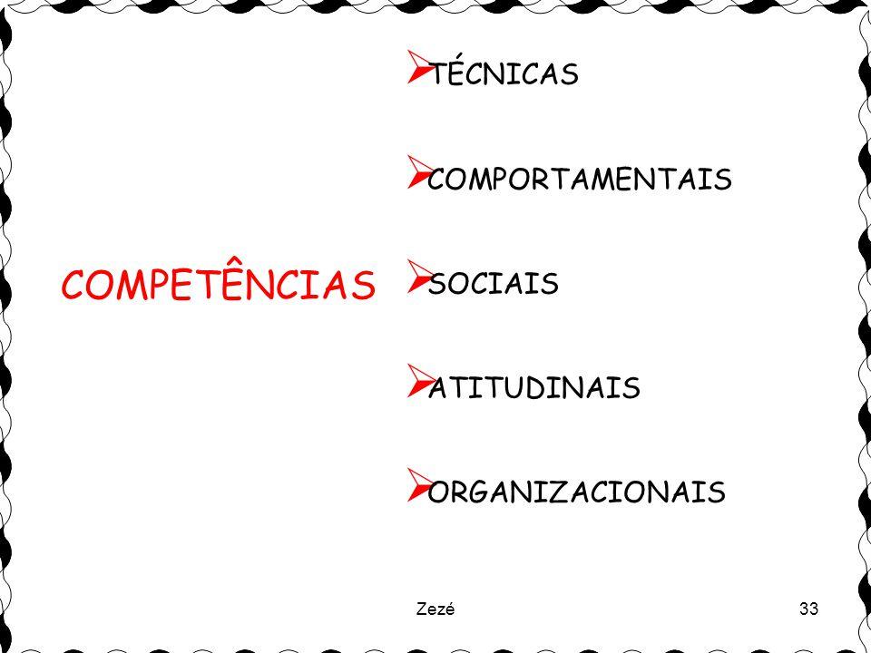COMPETÊNCIAS TÉCNICAS COMPORTAMENTAIS SOCIAIS ATITUDINAIS