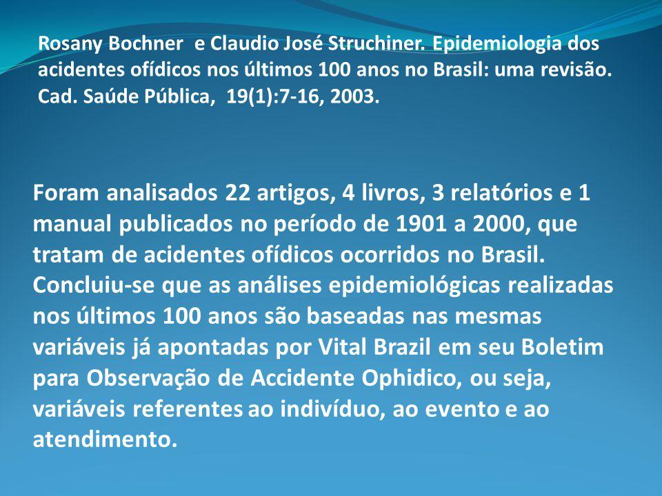 Rosany Bochner e Claudio José Struchiner