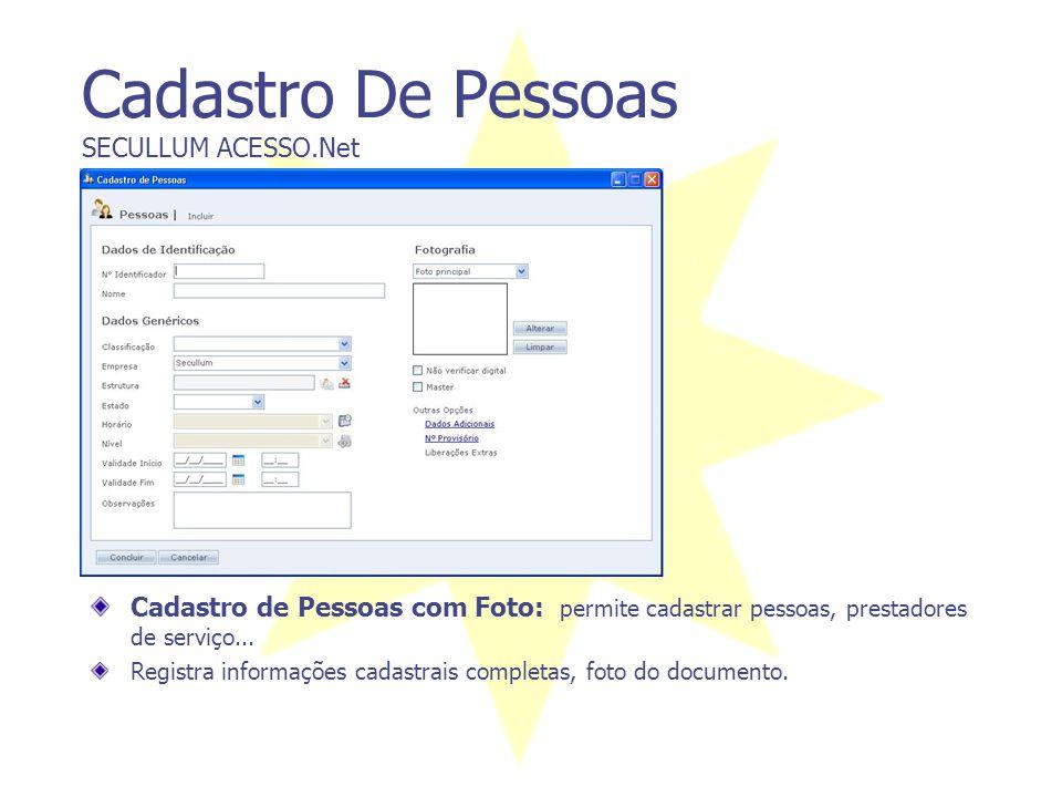 Cadastro De Pessoas SECULLUM ACESSO.Net