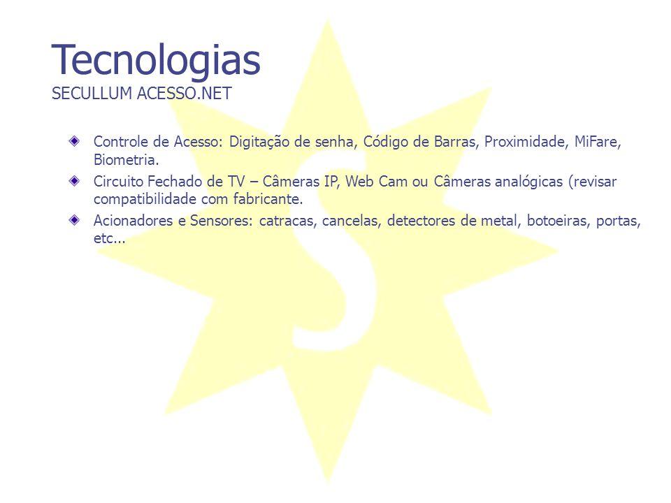Tecnologias SECULLUM ACESSO.NET