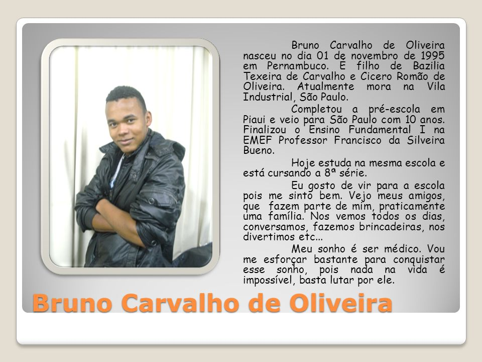 Bruno Carvalho de Oliveira