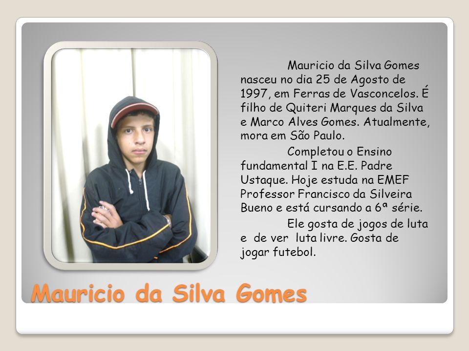 Mauricio da Silva Gomes