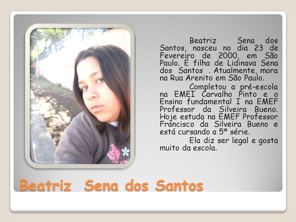 Beatriz Sena dos Santos