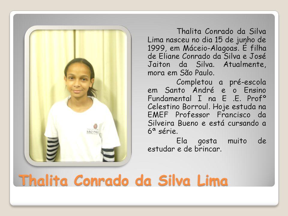 Thalita Conrado da Silva Lima