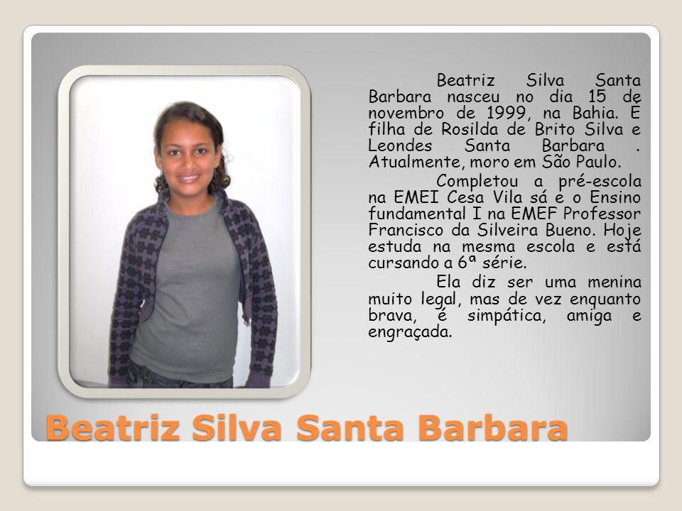Beatriz Silva Santa Barbara