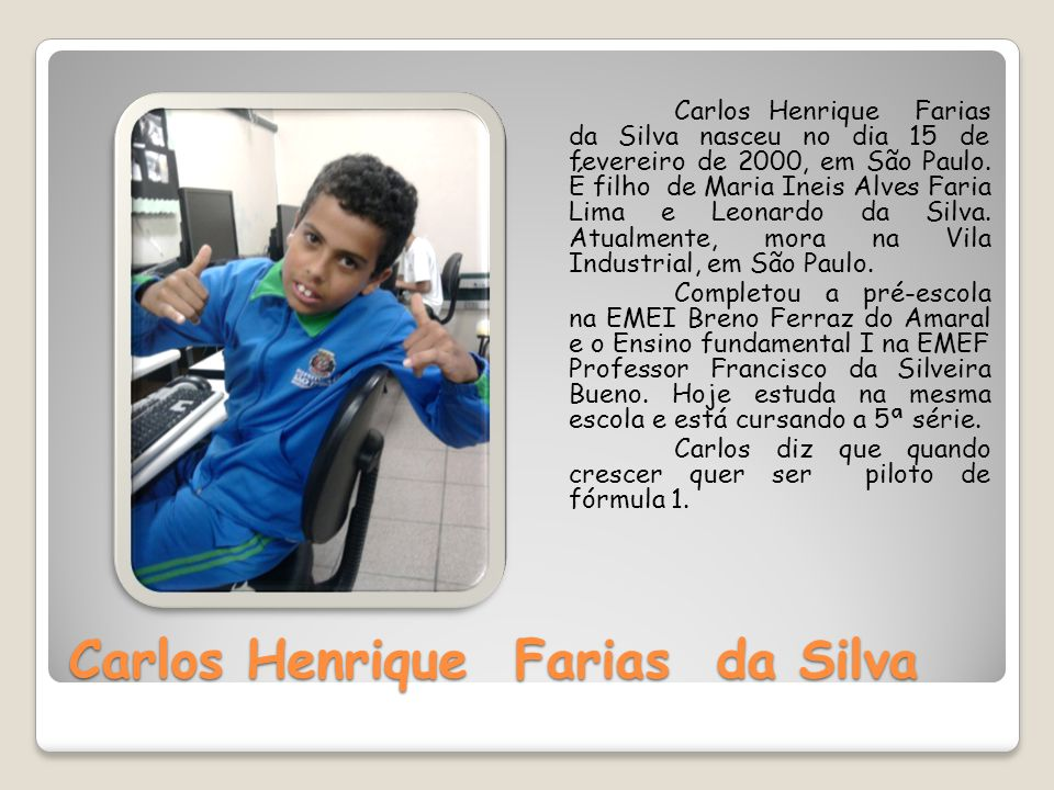 Carlos Henrique Farias da Silva