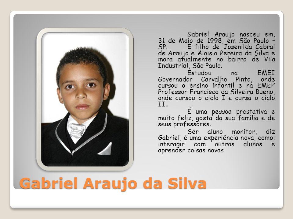 Gabriel Araujo da Silva