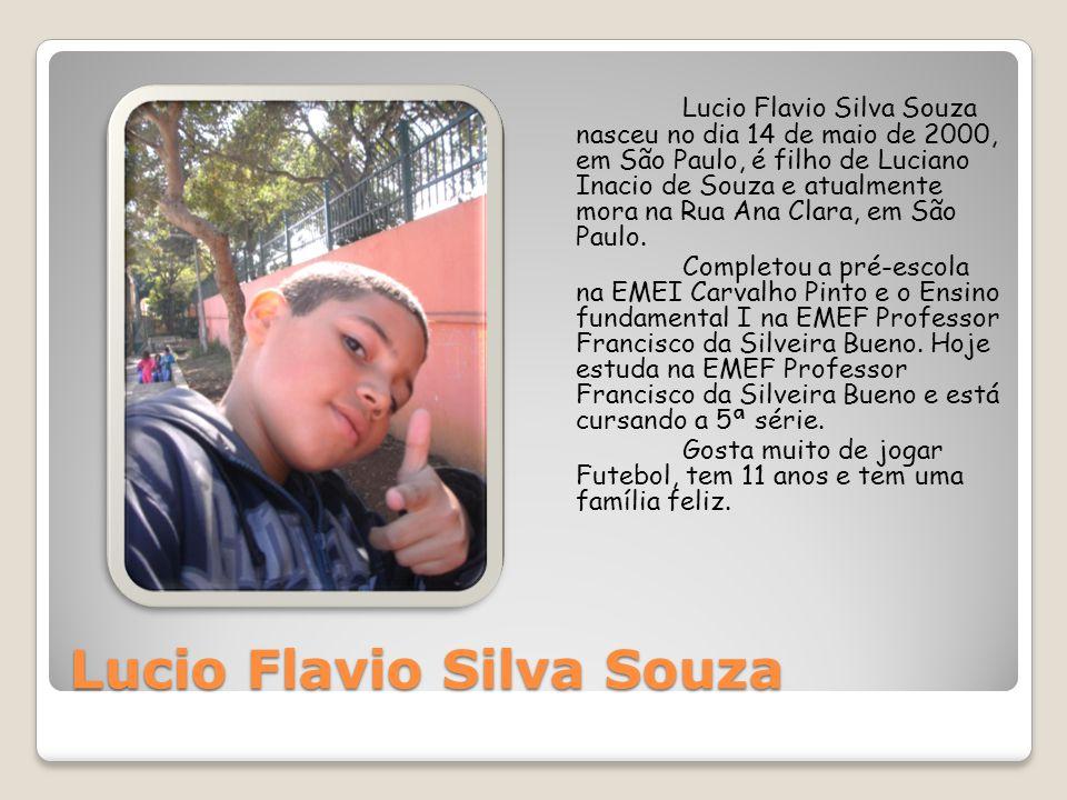 Lucio Flavio Silva Souza