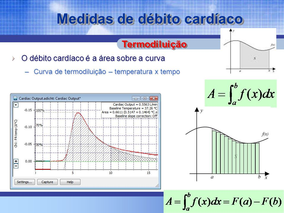 Medidas de débito cardíaco