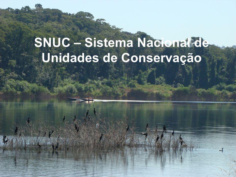 SNUC – Sistema Nacional de Unidades de Conservação