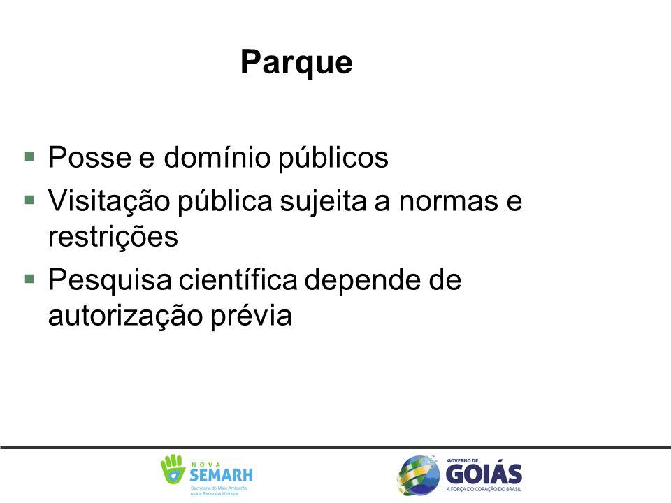 Parque Posse e domínio públicos
