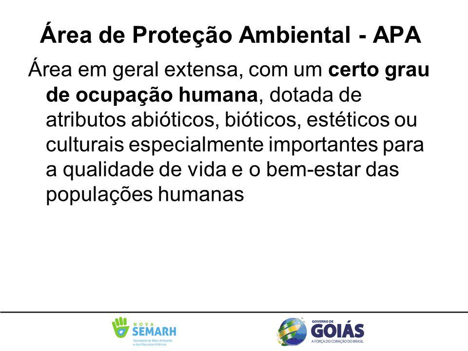 Área de Proteção Ambiental - APA