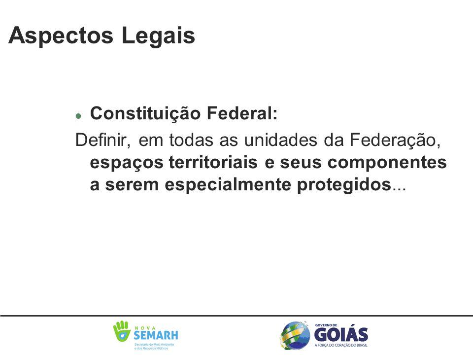 Aspectos Legais Constituição Federal: